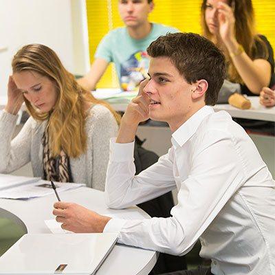 Salle de classe du campus de Lille
