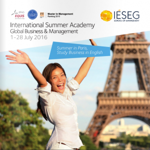 International Summer Academy 2016