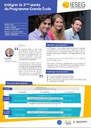 3ème année Programme Grande Ecole