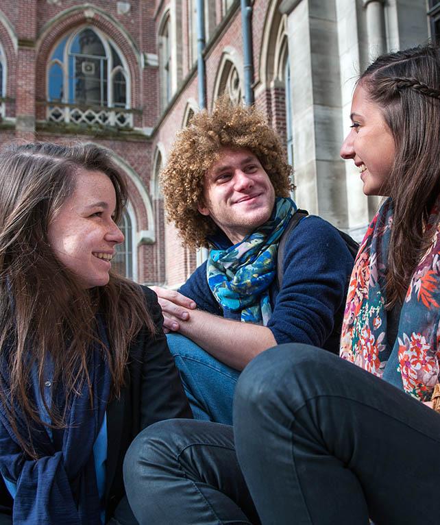 Students at La Catho
