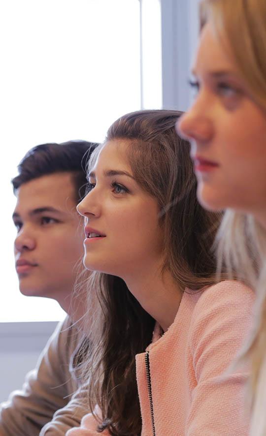 Etudiants master Grande École