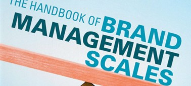 New publication: The Handbook of Brand Management Scales
