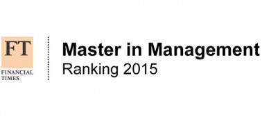 Financial Times global masters in management ranking 2015