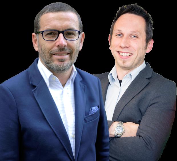 Bart Claus & Antonio Giangreco, Academic Directors