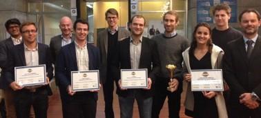 UZER remporte le concours de l'entrepreneur IÉSEG de l'année !