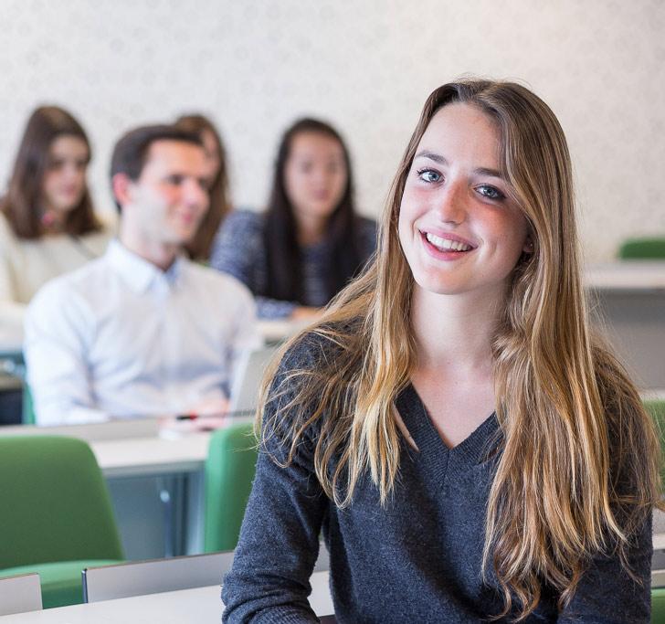 Master droit et management - étudiante en droit des affaires