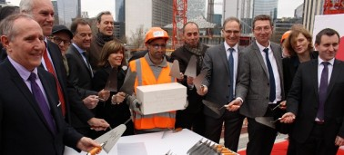 Expansion of the IÉSEG Paris-La Defense campus: laying of the foundation stone of the new building