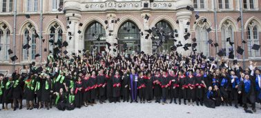 IÉSEG's Ceremony for outgoing postgraduate students