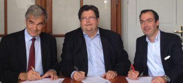 Signature de la convention entre l'IÉSEG et la Faculté De Droit dans le cadre du Double Diplôme en Droit & Management