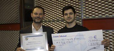 Merito remporte la 2ème édition du prix « Entrepreneur IÉSEG »