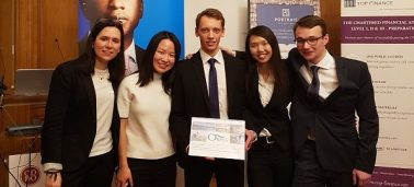 IÉSEG team wins the French final of the CFA Institute Research Challenge