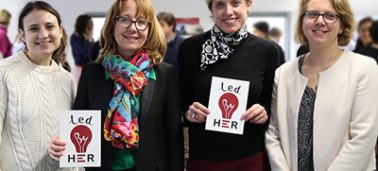 "IÉSEG supports ""Led by Her"" – a social incubator for women who have experienced violence"