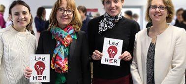 L'IÉSEG s'engage dans le développement de l'incubateur social « Led by Her » pour des femmes qui ont subi des violences