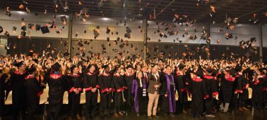 Graduation ceremony (Grande École program) and Pre-graduation ceremony (Postgraduate programs)