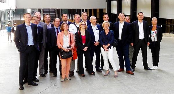 directeurs d'agences régionales du groupe CIC