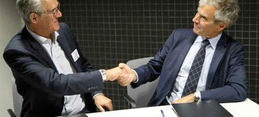 L'IÉSEG et La Caisse d'Epargne Hauts de France signent un nouveau partenariat pour promouvoir l'entrepreneuriat, le digital et l'engagement sociétal