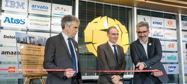 Inauguration officielle du bâtiment « Promenade de l'Arche »