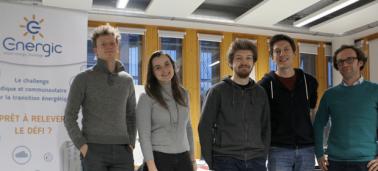 CRÉENSO : Questions croisées Gloria, étudiante IÉSEG et Quentin, cofondateur d'Energic