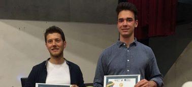 Remise du Prix Entrepreneur IÉSEG 2018 : IPaidThat & Eclo récompensés