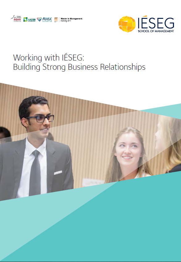 Working with IÉSEG – Building Business Relationships