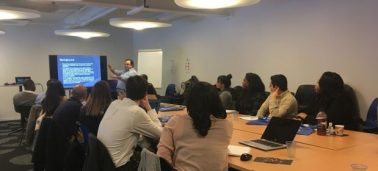 Learning expeditions: IÉSEG Executive Education welcomes University of Baltimore students to work on consulting projects in Paris