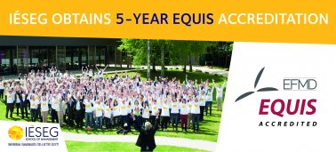 IÉSEG School of Management gains EQUIS accreditation for 5 more years