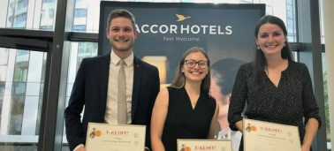 A team of three students wins AccorHotel's international competition