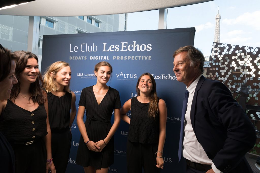 Photo: © Upper Link/ Club Les Echos