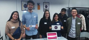 International students develop their French through creative group work