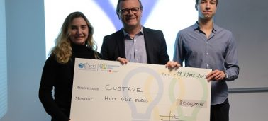 2019 IÉSEG Entrepreneur competition: the startups Gustave and Le Frigo rewarded