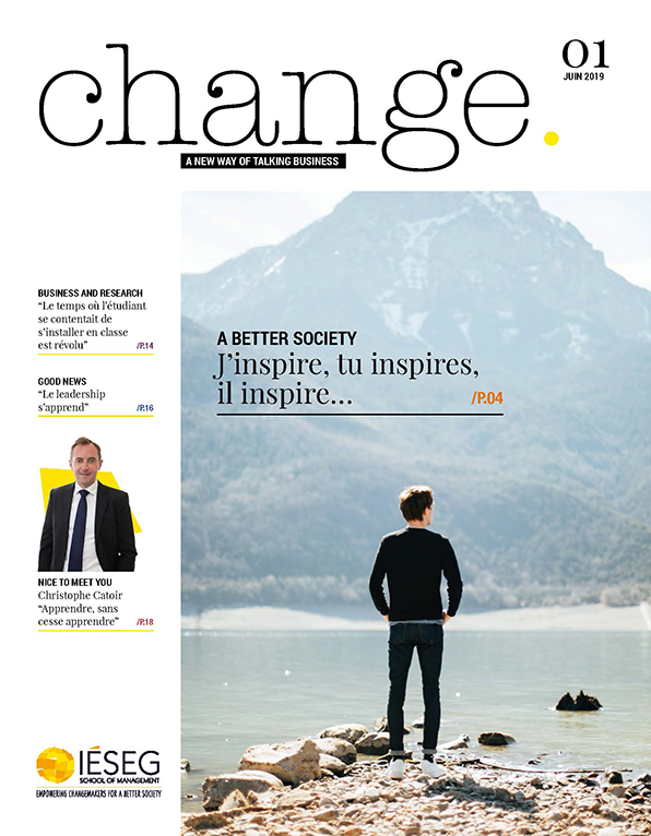 Magazine Change - A new way of talking business - Numéro 1