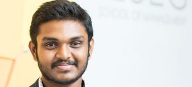 Interview with alumnus Sharan Sai Agiri, founder of the start-up Nourritage