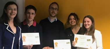 IÉSEG students participate in an innovation challenge in collaboration with the Dove and McCain brands