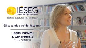 60 seconds: Inside Research - Elodie Gentina