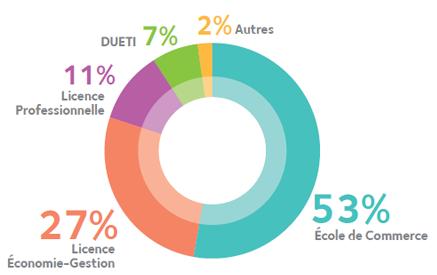 profil des admis en Digital Marketing et e-commerce
