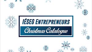 Besoin d'idées de cadeaux de Noël ? : consultez le « catalogue de Noël des entrepreneurs IÉSEG »