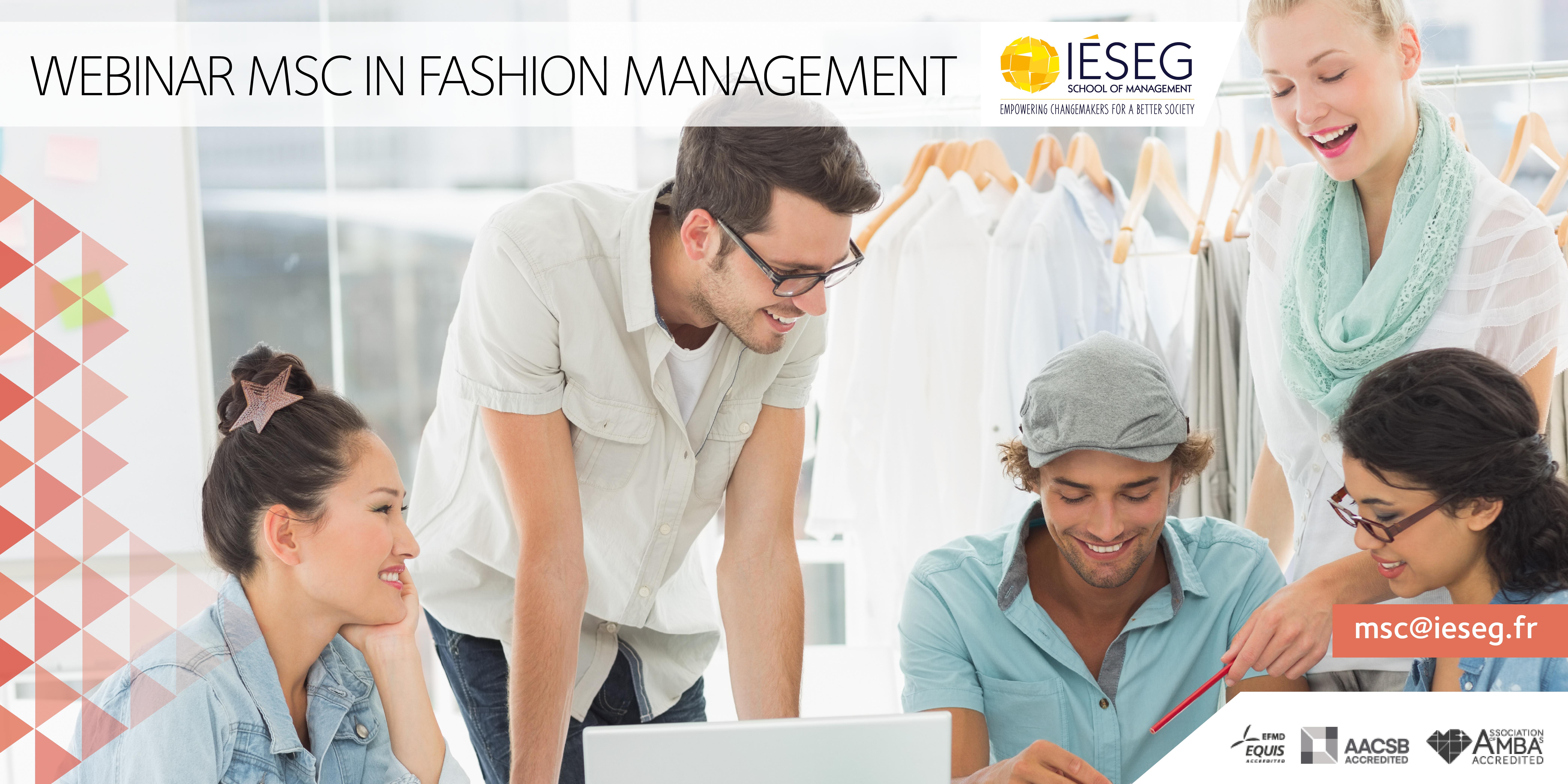Webinar Msc In Fashion Management Ieseg