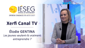 Xerfi Canal TV - Elodie Gentina