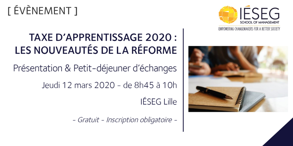 2020 mars_PDej Taxe apprentissage _Lille