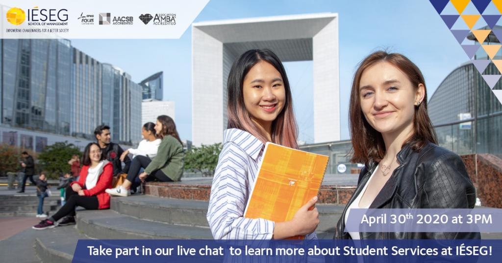 Visuel Live Chat Student Services