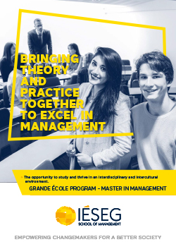 Cover Brochure Master in Management