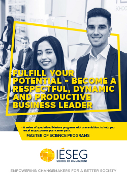 Portfolio des Programmes Master of Science