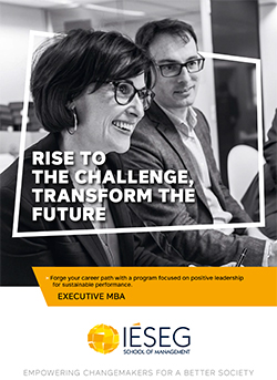 Cover Brochure Executive MBA