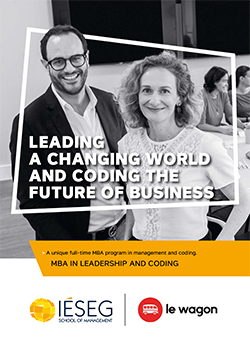 Cover Brochure MBA in Leadership and Coding