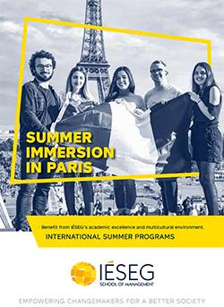 Cover Brochure Summer Programs