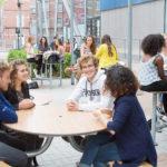 Thumbnail of Espace extérieur du campus de Lille