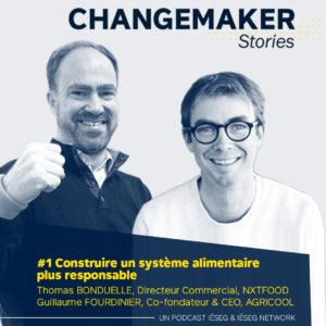 "Podcast ""Changemaker Stories"" - Épisode 1"