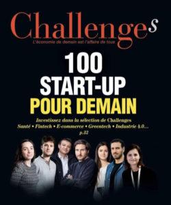"Magazine Challenges ""100 start-up pour demain"""