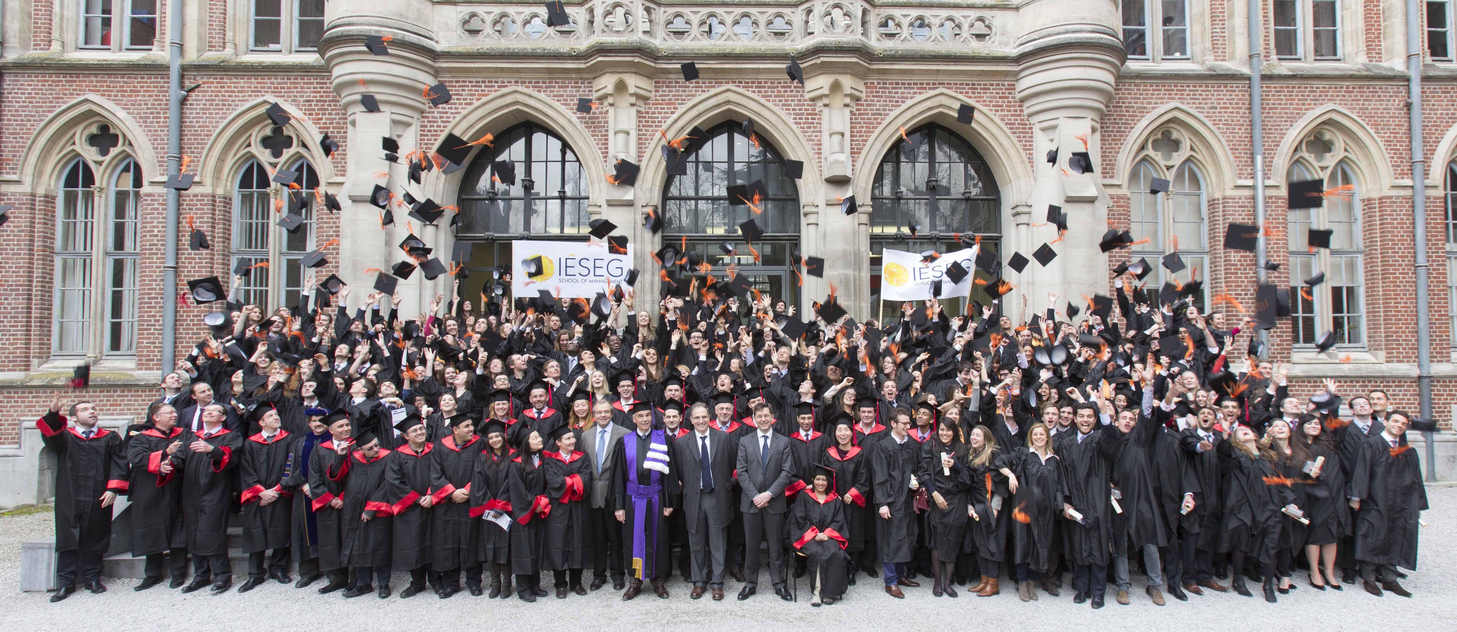 Le Groupe Phoenix Pharma parraine  la 44ème promotion de Diplômés de l'IÉSEG