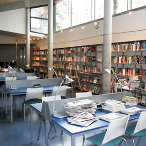 Lille campus library